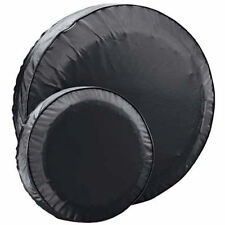 "Boat Trailer Spare Tire Cover Black Vinyl 15"" Protects Spare Tire From Dry Rot"