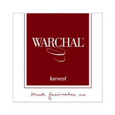 Warchal Karneol Violin String Set  4/4  E Ball End