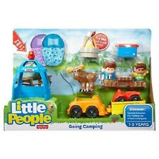 Fisher-Price Little People Going Camping Play Set NEW