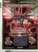 Official Konami Yu-Gi-Oh Zoodiac Rampage Raging Tempest Fusion Enforcers Poster