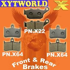 FRONT REAR Brake Pads for HONDA CB 400 SF (F2V/F3T) Superfour (NC31) 1996 1997