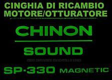★CINGHIA DI RICAMBIO MOTORE 1 x PROIETTORE SUPER 8 mm CHINON SP 330 ★