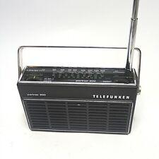 70er Jahre Radio Telefunken Partner 200 spielt einwandfrei