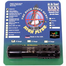 KICKS HIGH FLYER PORTED BLACK CHOKE TUBE MODIFIED 10GA REMINGTON SHOT GUN