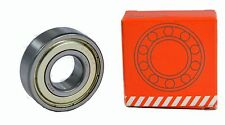 6206-ZZ Shielded Radial Ball Bearing, 30x62x16mm