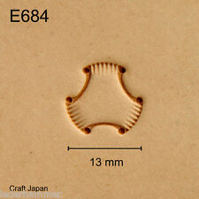 Punziereisen, Lederstempel, Punzierstempel, Leather Stamp, E684 - Craft Japan