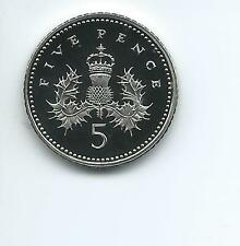 2005 Royal Mint Proof  5p  taken from Royal Mint proof Set