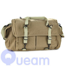 Dollice DR-655S Double AF Bag Sand Canvas Camera Bag