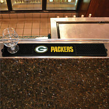 Green Bay Packers Drink Mat Bar New Man Cave Work Lounge Kitchen Game Room Den