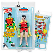 DC Comics Teen Titans Mego Style Robin Action Figure