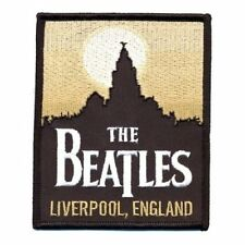 THE BEATLES - LIVERPOOL ( BRAND NEW 9cm x 11cm IRON-ON PATCH )