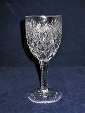 St Saint Louis Crystal FLORENCE American Burgundy or Red Wine Glass 6 1/2""