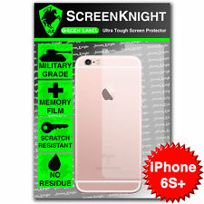 "ScreenKnight Apple iPhone 6S Plus 5.5"" BACK SCREEN PROTECTOR invisible shield"