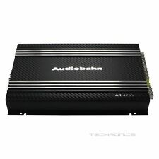NEW AUDIOBAHN 4 CHANNEL CLASS A/B AMP CAR AUDIO MOSFET AMPLIFIER FOR SPEAKERS