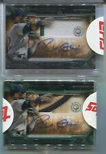2015 ROBINSON CANO Topps Strata SIGNATURE AUTOGRAPH w/GAME Used wDIRT SWATCH #75