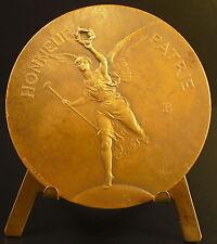 Medaille La Victoire ailée Louis Ernest Barrias 1886 Lenoir Winged Victory medal