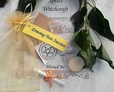 Pass Driving Test Spell Kit  Votive Candle  Magic Wicca Created by a Witch