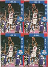 4 CARD LOT GRANT HILL ROOKIE RC #409 UPPER DECK DUKE BLUE DEVILS 94 DRAFT CLASS
