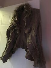 Steampunk Ladies Cardigan Size S