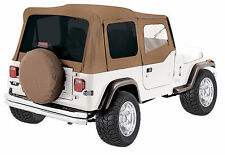 SPICE 1988-1995 JEEP WRANGLER YJ REPLACEMENT SOFT TOP + UPPER SKINS