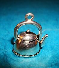 Pendant Tea Kettle Charm Coffee Pot Charm Cooking Tea Pot Alice In Wonderland