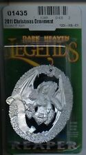 Reaper Dark Heaven Legends Christmas Sophie Ornament 2011 MINT #01435 Metal