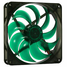Nanoxia 140mm Deep Silence Quiet PC Case Fan 1100 RPM, 68.5 CMF, 14.4 dBA, 3-Pin