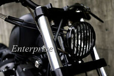 New Black Headlight Grill Aluminum f/Harley Davidson Sportster XL883/1200 04-UP