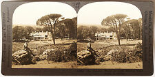 Keystone Stereoview Cecil Rhodes' Home, Cape Town, So. AFRICA 1930's T600 Set #A