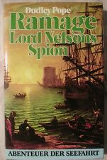 Dudley Pope Ramage Lord Nelsons Spion HC