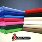 100% Cotton Canvas Fabric - Plain Colour - 60