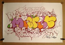 "TILT & MIST sérigraphie ""MISTILT"" signée-num/200 -obey/dolk/kaws/dface/dran/C215"