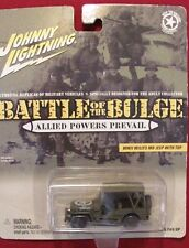 Johnny Lightning 1:64 WWII Willys MB Jeep with top    Battle of the Bulge    NOS