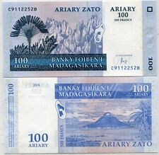 MADAGASCAR 100 ARIARY 2004 (2016) P 86 NEW SIGN UNC