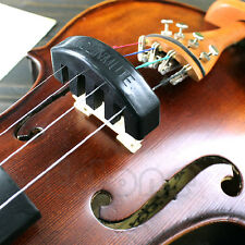 New Violin Practice Heavy Black Rubber Violin Mute Silencer Acoustic Electric