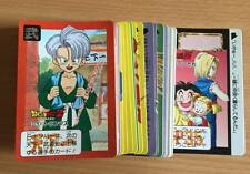 Carte Dragon Ball Z DBZ Carddass Hondan Part 16 #Reg Set 1993 MADE IN JAPAN