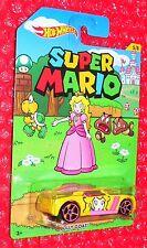 2016 Hot Wheels Super Mario #5 BULLY GOAT DJK67-D910  Princess Peach