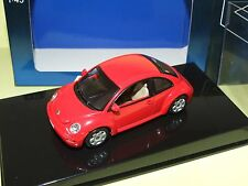 VW NEW BEETLE Rouge AUTOART 1:43