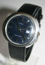 RARE VINTAGE 1970's TIMEX MARLIN HAND-WINDING GENTS WATCH WITH DATE
