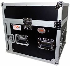 Pro X T-8MRSS 8U x 10U Space Slant Combo DJ ATA 300 Rack Flight Case