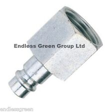 PCL EURO FEMALE ADAPTOR 1/4 BSP - common size air fitting for spray gun  EU415