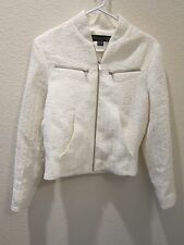 Theyskens' Theory White Juriah Jacket - Womens Petite - New