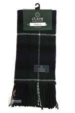 PURE NEW WOOL TARTAN CLAN SCARF - GREAT GIFT - MACKENZIE