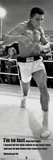 "CHAMPION Muhammad Ali Poster ""I'm so fast"" Giant 21x62 Licensed door-sized"