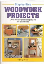 Step by Step Woodwork Projects By G.J. Engelbrecht. 9781853683404