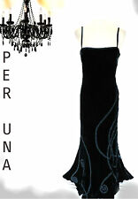 PER UNA SILK VELVET SEXY SLINKY DRESS ROMANTIC EVENING COCKTAIL PARTY XMAS 14r