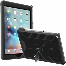 Poetic Revolution Rugged Protective Case for iPad Pro 12.9 w/Pencil Holder Black
