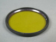 Yellow Filter 62 2x, 62mm black Metallf Glass l. Scales