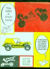 1970's Chassis Unlimited Dingbat 850 4-page hot rod catalog