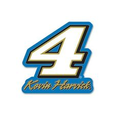 Kevin Harvick 2017 Wincraft #4 Blue/Gold Number Pin Carded FREE SHIP!
